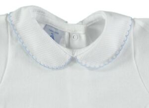 a751418486 Peter Pan Collar Vest by Spanish Brand Babidu - 3 to 36 Months ...