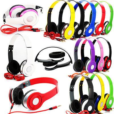 Adjustable Over-Ear Earphone Headset Headphon 3.5mm for iPod iPhone MP3/P4 SP15