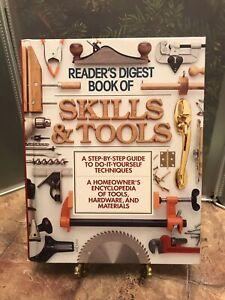 Reader's Digest Book of Skills & Tools DIY Techniques 1993 ...