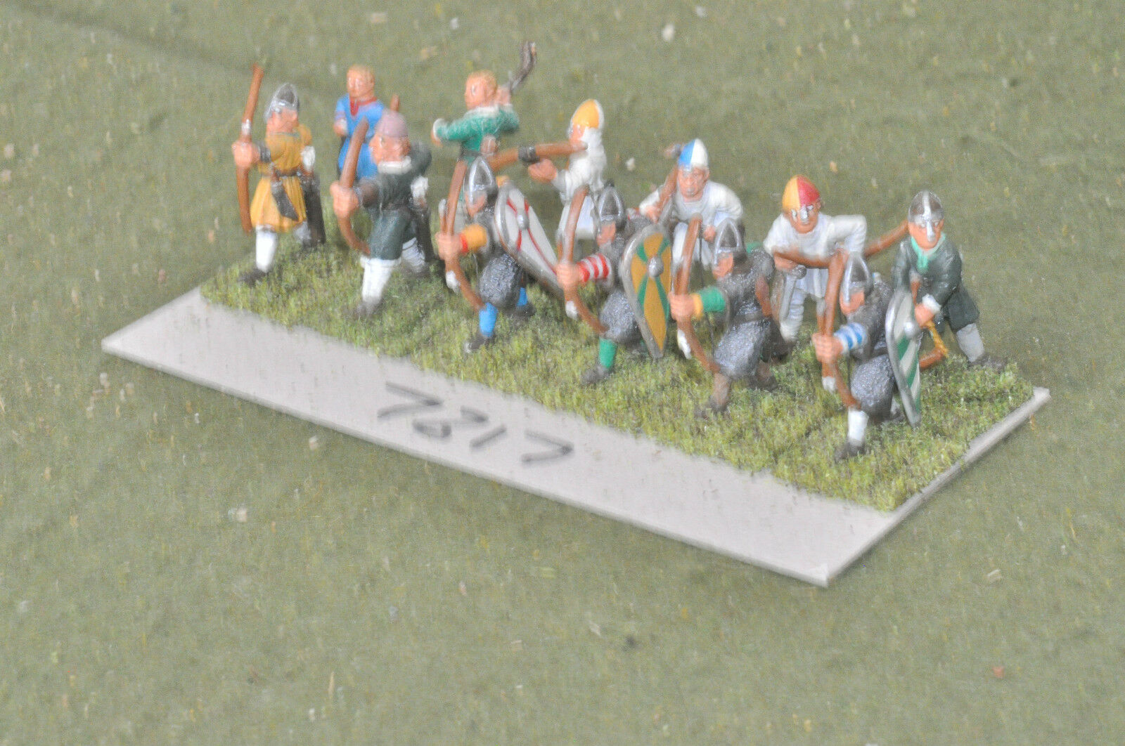 25mm classical   generic - archers crossbow  slingers 12 metal - inf (7817)