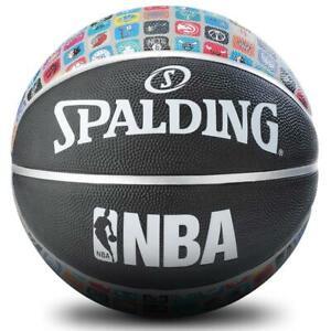 NBA-Designer-Logo-Icons-Size-7-Outdoor-Basketball-From-Spalding