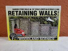 C1161 RANDOM STONE RETAINING WALLS 6 SECTIONS Woodland Scenics #1161 N SCALE