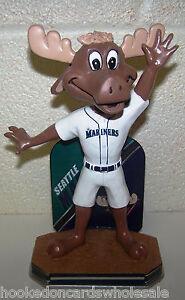 2016 Mariner Moose Seattle Mariners Mascot Bobblehead ...