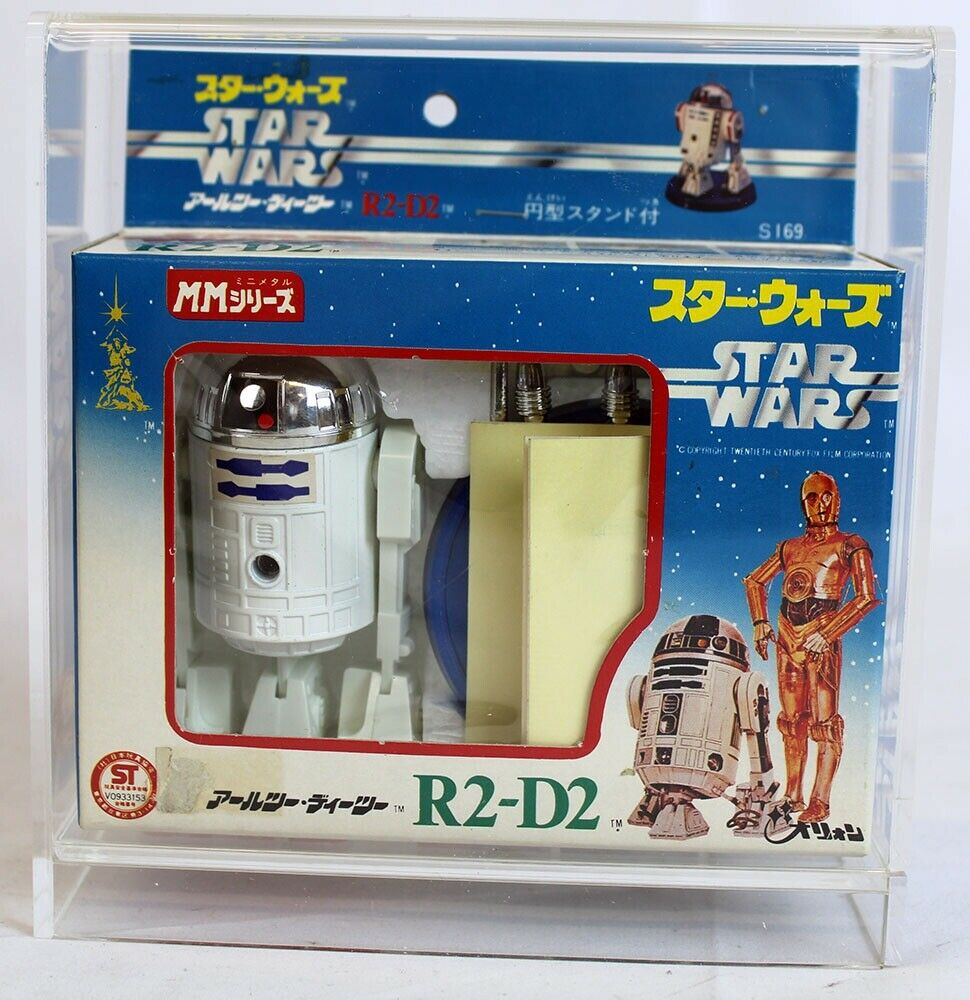 Vintage Star Wars Boxed Foreign Takara Diecast R2-D2 Missile Firing MIB C7 (Deca