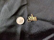 14 KARAT GOLD  'SPOILED SPOILED SPOILED' PENDANT - Great gift for the spoiled!