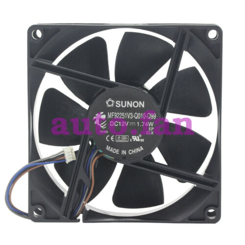 For SUNON MF92251V3-Q010-Q99 Cooling fan DC12V 1.74W 92*92*25MM 4pin