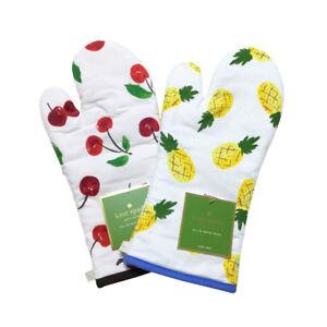 Kate-Spade-Oven-Mitt-Floral-Fruit-Cherry-Pineapple-Tropical-Kitchen-Hostess-Gift