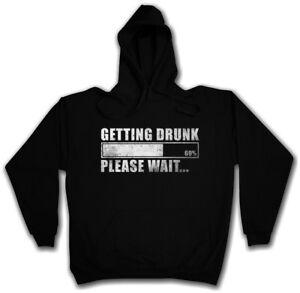cappuccio Hangover Party Aspetta Felpa Alkohol ubriaco Ottenere Absturz con Drinker Divertente Rx4SWqw