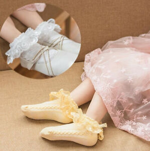 Kids-Baby-Girls-Soft-Short-Socks-Breathable-Cotton-Lace-Children-Ankle-Socks