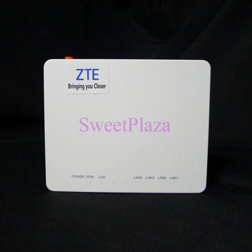 Original ZTE ZXHN F633 GPON ONU 1GE+3FE LAN ports English setup interface