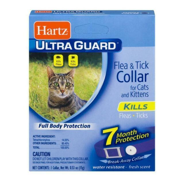 Hartz Ultra Guard Flea & Tick Collar For Cats Kittens 7 Mont