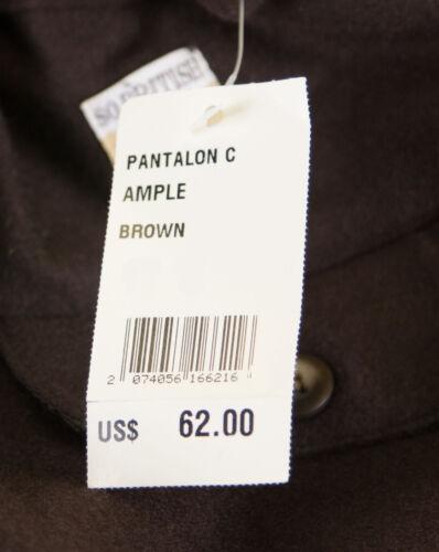 JACADI Boy/'s Ample Brown Wool Blend Trouser Pants Sz 4 Years  NWT $62