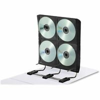 Ideal Gapless Media Binder For Dvd/cds 34 Pages Holds 272 White Ft07016 on sale