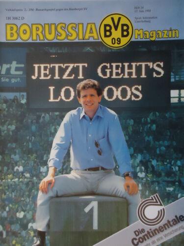 Programm 1994//95 Borussia Dortmund Hamburger SV