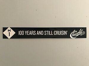 2011-Woodward-Dream-Cruise-Chevrolet-100th-Anniversary-Windshield-Cling-Banner