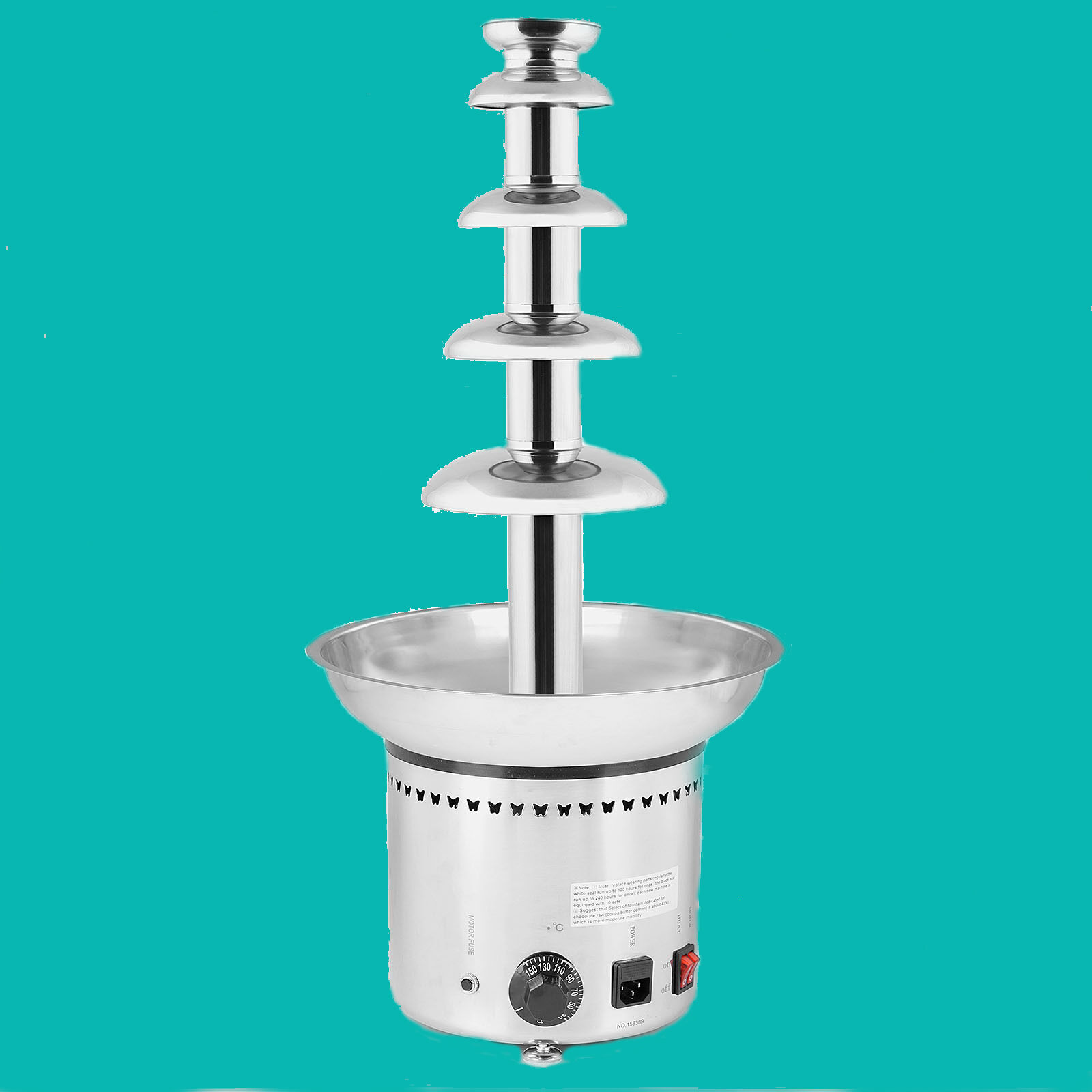 Commercial Chocolate Fountain - Large 5 Tiers - - - UK Warranty 8c2932