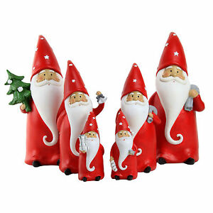 image is loading santa claus gnome christmas ornaments garden gnome home