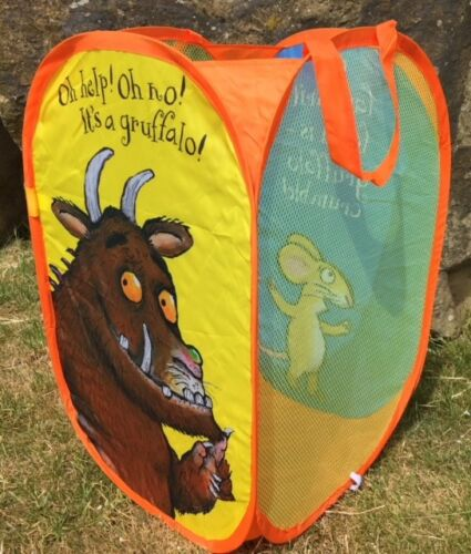 Official Licensed Gruffalo Large Pop Up Room Tidy//Storage Toy Bag  303019