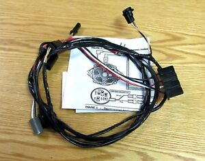image is loading 1955-chevy-alternator-conversion-wire -harness-external-regulator-