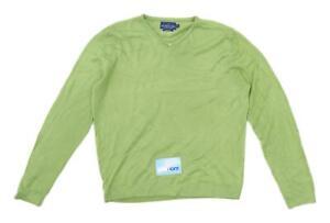 BHS-Mens-Size-M-Green-Jumper
