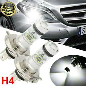 2x-H4-LED-HID-AUTO-Lampen-Birne-NachruestsatzGLUHLAMPEN-SCHEINWERFER-DC-6000K-12V