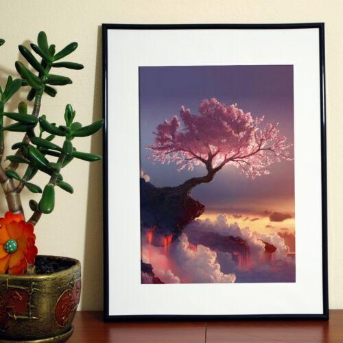 Cherry Tree HAZLO TÚ MISMA Kit de mosaico de pintura de diamante imagen