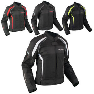 Mujer-Transpirable-Chaqueta-Moto-Verano-Reflectantes-Regulable-Impermeable
