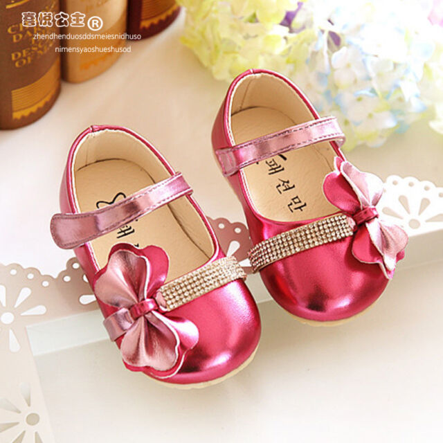 fb85ef7b643f Cinda Baby Girls Sparkling Hot Pink Party Shoes 9-12 Months for sale ...
