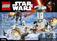 Star Wars Lego Ice-planet Hoth Battles Empire Strikes Back Play Building Toys on sale