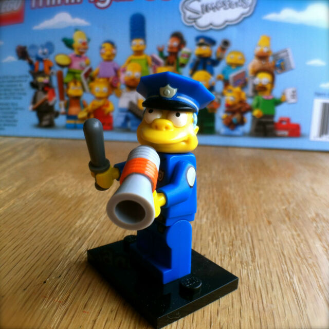 LEGO 71005 THE SIMPSONS Minifigures POLICE CHIEF WIGGUM #15 SEALED Minifigs 1