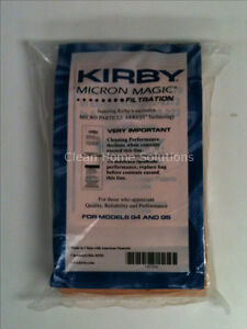 Kirby Micron Magic Vacuum Bags  Set of 9 Bags for Models G4 G5 197394 Brand New