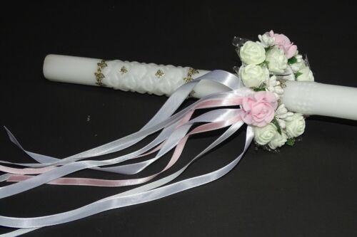 Velas rock tropfschutz velas pañuelo velas vestido comunión vela 2,7-4 cm