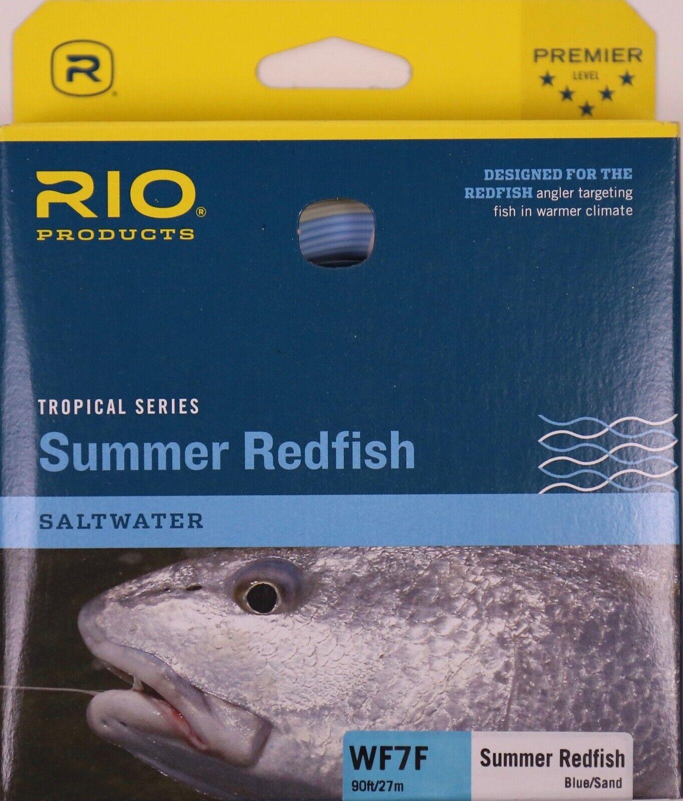 Rio Summer rossofish WF7F blu Se gratuito Expedited Shipping 621020