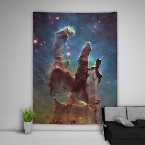 Star-Space-Wandteppich-Kunst-Wandbehang-Tisch-Bettdecke-Wohnkultur