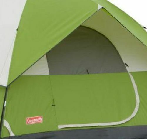 Coleman Instant Tent Person Outdoor Camping 6 Person Tent Sundome Weathertec Easy Setup 8148e3