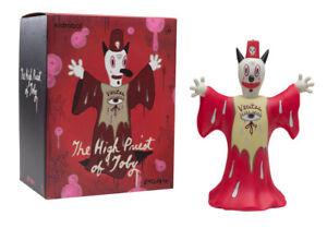 KidRobot-The-High-Priest-of-Toby-10-Inch-Vinyl-Art-Figure-by-Gary-Baseman-NEW