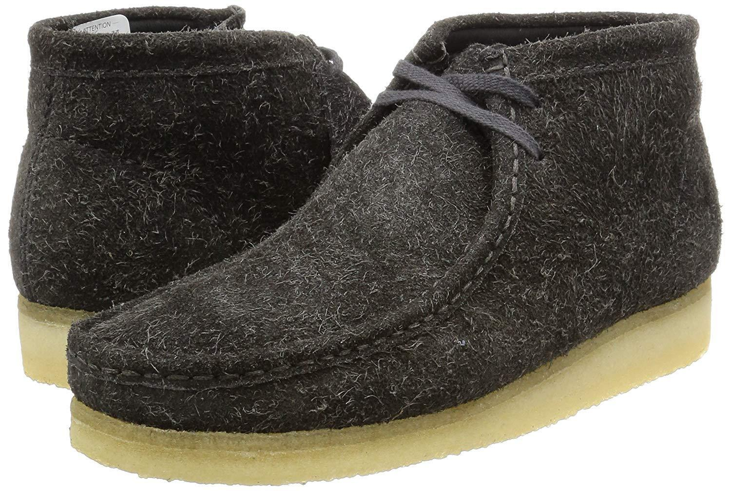 Clarks Originals  Uomo  Wallabees Grau Warmlined Suede Suede Suede   Limited Stock  368571