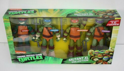 """2019 NICKELODEON TMNT MUTANT XL COLLECTION INCLUDES 4 11/"""" FIGURES"""
