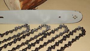 """4 Ketten passend für Stihl 017 MS 170 35 cm 3//8/"""" 50 TG 1,3mm Sägekette Schwert"""
