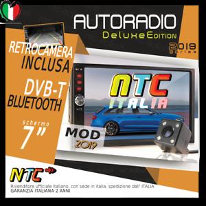 AUTORADIO-7-034-Touch-NTC-2DIN-Bluetooth-FORD-FIESTA-FUSION-FOCUS-KUGA-MONDEO