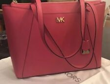 5f55745efcd8 item 4 NWT Michael Kors Maddie Medium East West Leather Tote Ultra  Pink/Gold -NWT Michael Kors Maddie Medium East West Leather Tote Ultra  Pink/Gold