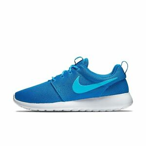the latest b5089 abc86 Image is loading NIKE-WOMEN-039-S-ROSHERUN-SHOES-blue-clearwater-
