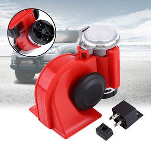 12v 130db fanfare hupe drucklufthorn kompressor luft horn. Black Bedroom Furniture Sets. Home Design Ideas