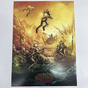 """STAR WARS THE RISE OF SKYWALKER IMAX Mini MOVIE POSTER 9.5""""x13"""""""