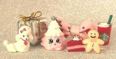 3 HELLO KITTY CAKES MUG Treats KAWAII Custom Miniatures DOLLHOUSE LPS LOL Lot