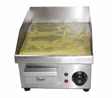 Electric Griddle, Commercial Hotplate, Burger Bacon Egg, Fryer, Grill, 380 x 280
