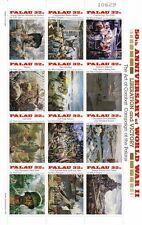Palau 1995 Mf 845-56 50 anniversario della fine II guerra mondiale mnh