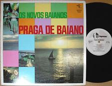 OS NOVOS BAIANOS praga de baiano '79 japan LP brazilian samba funk rock breaks