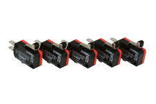 5 Pc Temco Micro Limit Switch Short Roller Lever Arm Spdt Snap Action Home Lot