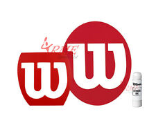 Wilson Tennis, Squash, Badminton Stencil and Wilson White Stencil Ink Pack